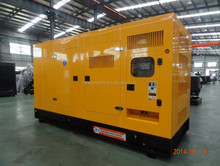 water-cooled Silent type DCEC generator set 500KW