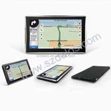 GPS Factory ! 2015 New gps Navigation HD 7 inch car gps navigation with Bluetooth AV-IN ISDB-T optional