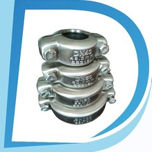 "flexible type 1.5"" DN40 48.3mm flat face hydraulic quick couplings for pipe connection with biggest manufacturer"