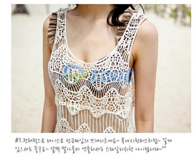 Женская туника для пляжа #57427 beach cover up