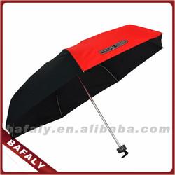 folding umbrella in 21inches,7 ribs travel umbrella in small size, 5 folding umbrella