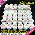 20204 h, Gel ultravioleta del Color 36 colos Uv Gel kit