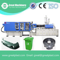High impact injection plastic car bumper molding machine