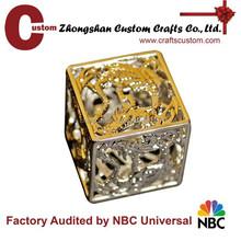 Hot sell design 3D casino metal dice factory