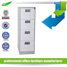 Office furniture 4 drawer vertical A4 storage metal file cabinet, cheap filing cabinet