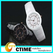 factory wholesale Lower Price fashion watches men Promotional gifts high quality fashion Ceramic Wristwatches