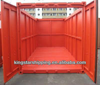 Shipping OpenTop Container for big cargo