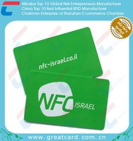 Whosale HF 13.56Mhz NFC Business Card