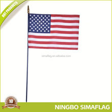With 9 years experience factory directly guide hand held adjustable tour flagpole