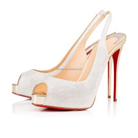 Women high heel dress shoes italian sexy shoes high heel platform slingback heels pumps