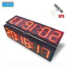 Halloween interval digital double sided led timer