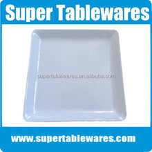 Mat finished square plastic tray large /square tray