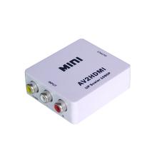 Mini Size AV to HDMI Converter RCA to HDMI Converter 3RCA to HDMI Converter 1080P