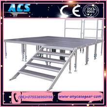 ACS 2015 Contemporary factory top level four legs portable stage
