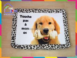 New design cheap plush dog Pet Bed