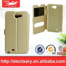 Leather Flip View Window Smart Cover Case I8160