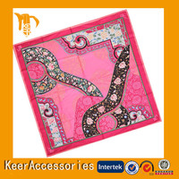 Fashion design100% Polyester Jacquard Handkerchief