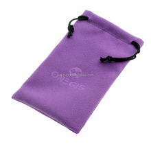 attractive customised brand printable cloth sunglass bag