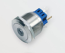 25mm Electrical Stainless steel elevator push button switch