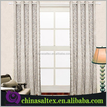100% Poly Jacquard Design Backout Fabric Curtain for Sale