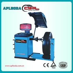 2015HOT SALE ! Wheel balancing machine good quality tire balancer heavy duty wheel alignment and balancing machine