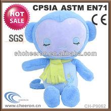 New product high quality soft plush monkey
