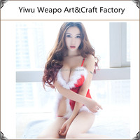2015 High Quality Cheap Christmas Sex Party Dance Costume Sexy Lady Costume