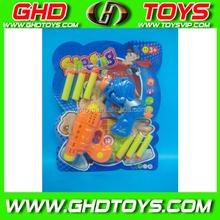 Newest cheap popular soft bullet gun toy, dart gun for game, indoor shooting game toys