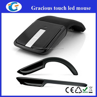 2.4ghz arc touch mouse with custom logo colour