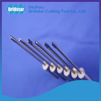 Drillstar heated shank /Gun drill with Estech tungsten carbide tip/ drill bit
