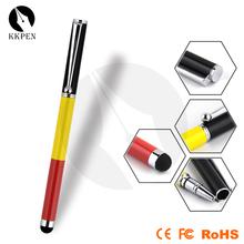 Shibell 2 in 1 stylus metal,ballpoint refill capacitive screen stylus pen