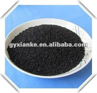 Sewage water treatment by coal columnar activated carbon