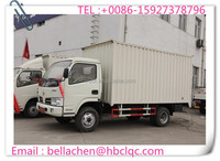 Cheap price 3000-5000kg DONGFENG diesel van truck for sale
