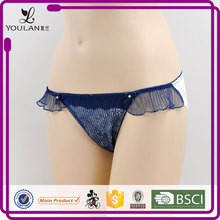 Japanese Style Fashionable Young Lady Lace Micro Tangas