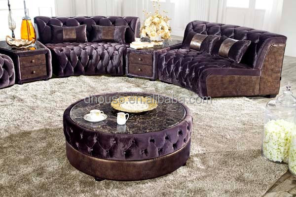 design italien grande taille en forme de u chesterfield tissu canap d 39 angle al034 canap salon. Black Bedroom Furniture Sets. Home Design Ideas