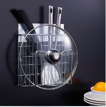 Typical Wall Mounted Metal Fork And Knife Display