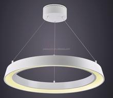 New Italian design wireless led hanging light led chandelier light ring light