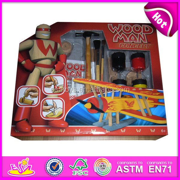Toys For Painting : Diy educational painting toy for kids fashion wooden