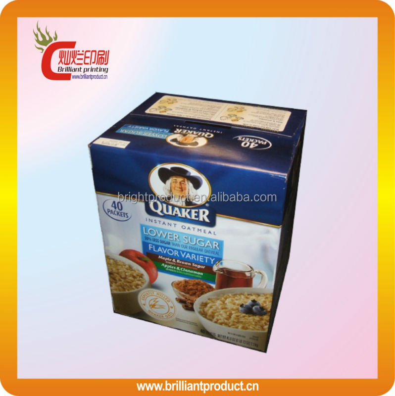 Eco friendly High quality paper fast food box, food packaging food delivery box