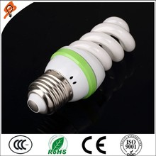 Best seller high quality 8000h 15w full spiral energy saving lamp/energy save lamp with normal shape