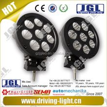Car accessories waterproof IP68 80w cree led work light 24v outdoor led driving headlight with spot/flood for wholesale