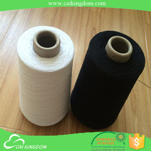 12s 65 polyester 35 cotton black sock yarn for man sock and sports sock on knit machine
