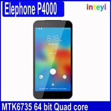 "Original Elephone P4000 4G LTE Mobile Phone 5.0"" 1280x720 MTK6735 Quad Core 2GB RAM 16GB ROM 13.0MP Android 5.1 Lollipop"