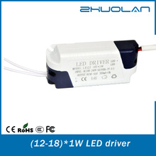 wholesale alibaba AC/DC led switching power supply 12-18w constant current led power driver for led panel light