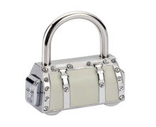 Fashion Digital Combination Padlock ; Bag Accessory