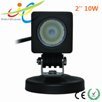 "2""10W cree LED driving work light for truck,motorcycle,scooter ,atv"