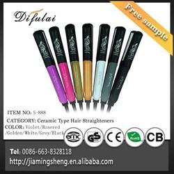 Multicolor for Choose Ceramic Hair Straightener Supplier