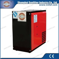 Compressed air purifier dryer with air compressor for car