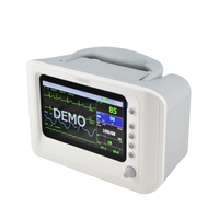 7 inch 6 parameter Handheld Patient Monitor RPM-9000F suitable emergency transportation