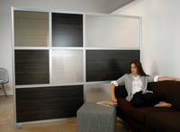 Modern design movable office partitions